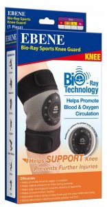 Sports Knee Guard with Bio-Ray Technology
