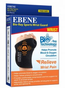 Wrist Guard for Sports with Bio-Ray