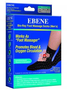 Bio-Ray Men's Foot Massage Socks